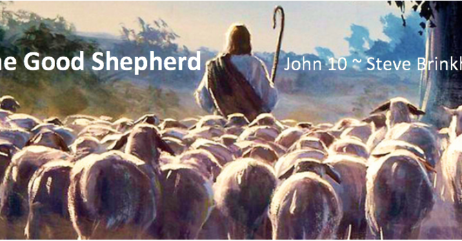John 10 The Good Shepherd