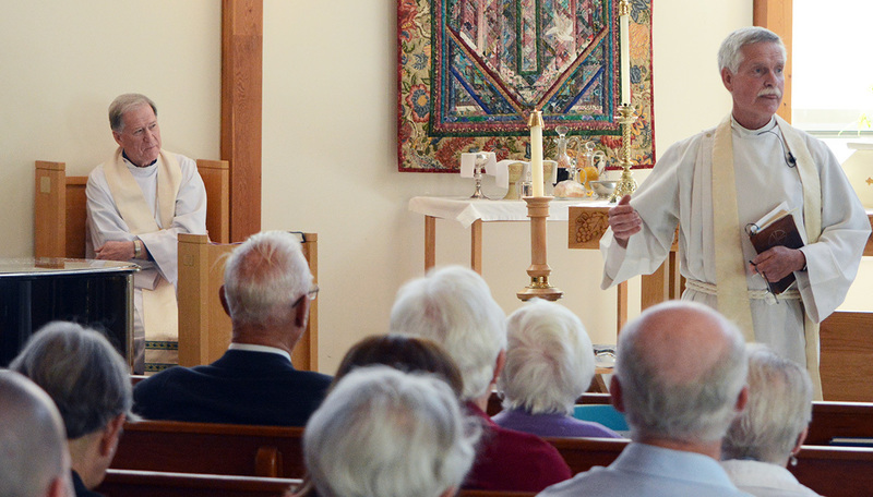 Archbishop Hiltz at St. John's, Squamish