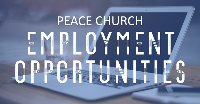 Peace is Hiring! image