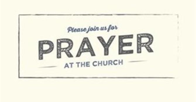 One Great Hour of Prayer  周六英語及國語禱告會