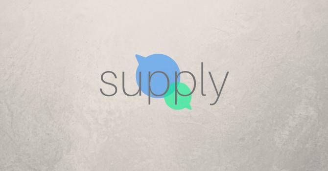Prayer: Supply