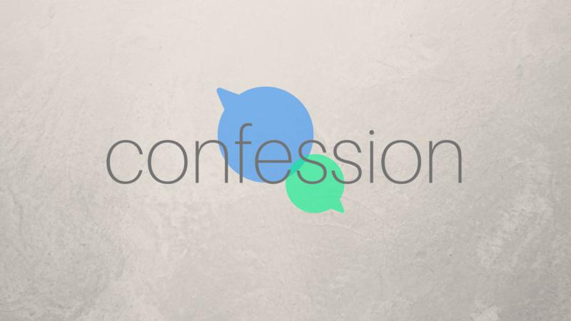 Prayer: Confession