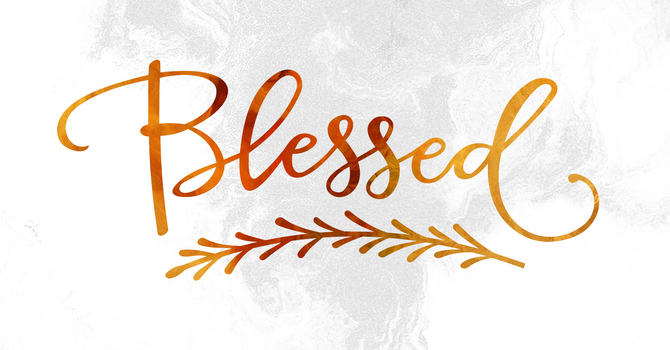 Being a Blessing