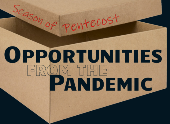 Opportunities From The Pandemic