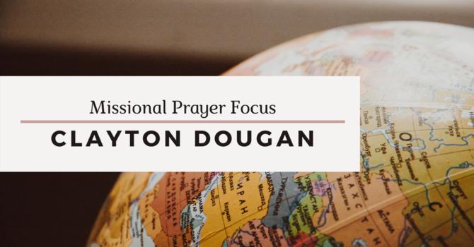 Missional Prayer Focus · April 26, 2020