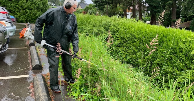 Garden and Grounds Clean-up Day!  image