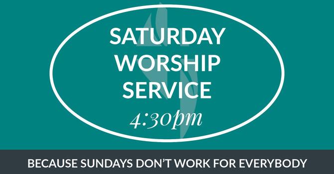 Saturday Worship Transmitted to Car Radio image