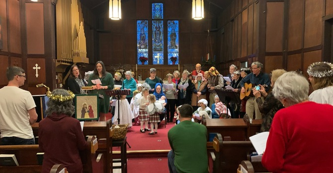 Christmas Eve Messy Pageant  image
