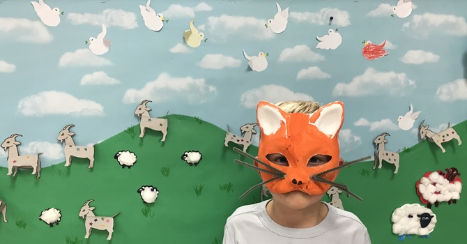 Messy Church and the Lost Sheep image
