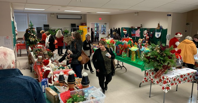Christmas Bazaar a tremendous success!