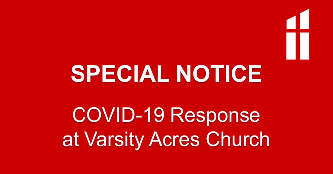 COVID-19 Response at VAPC - March 18 image