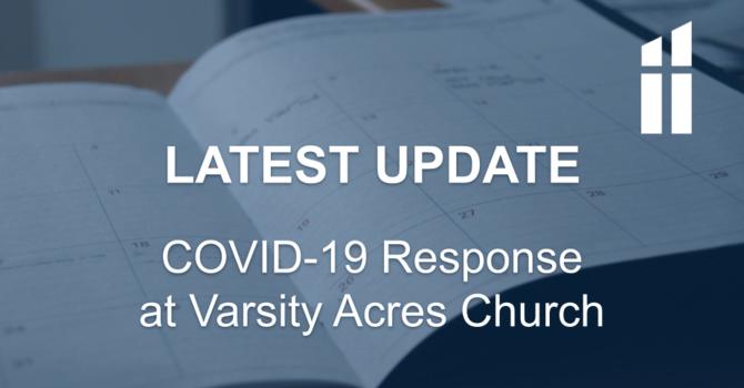 COVID-19 Response - Latest Update image