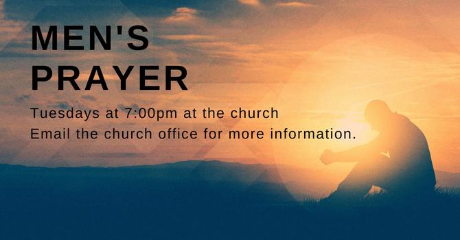 Men's Prayer  - Not meeting in person