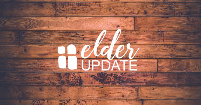 Update from the Elders image