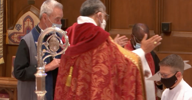 Watch the Ordination to the Priesthood of the Rev'd Colin Brown image