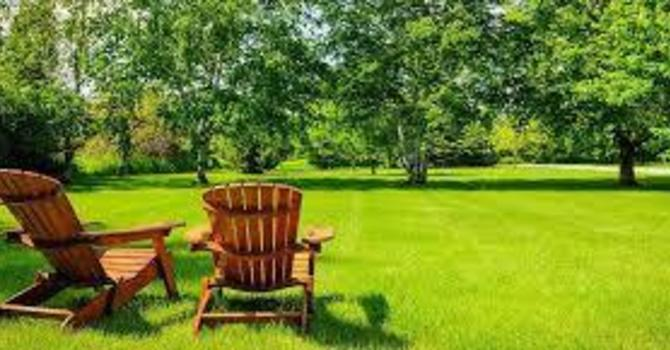 Lawn Chair Get Together Covid Style image