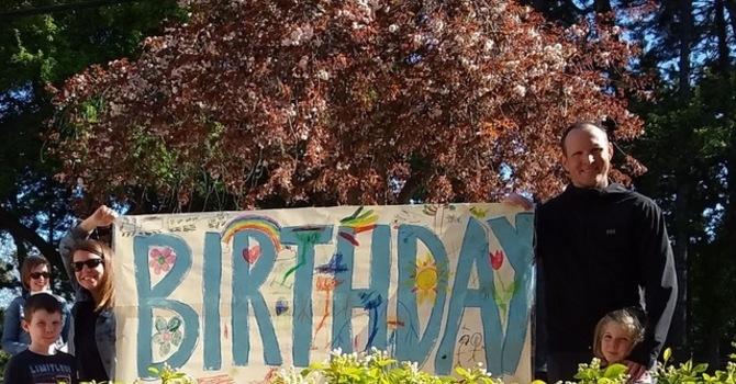 Birthday Hedge Party image