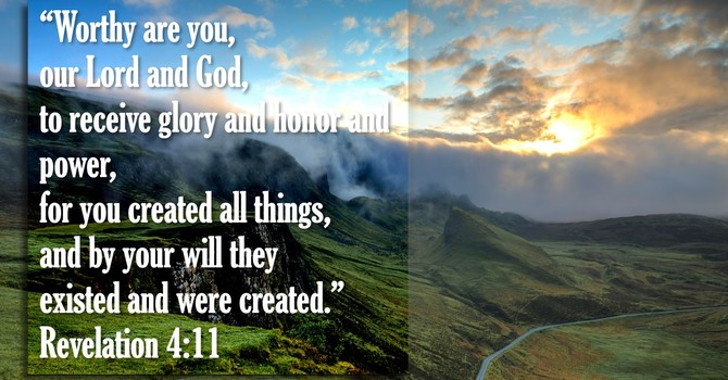 In the Beginning God Created