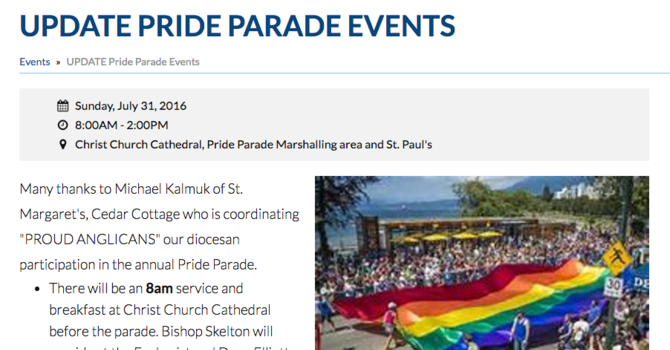 Vancouver Pride Parade Events image