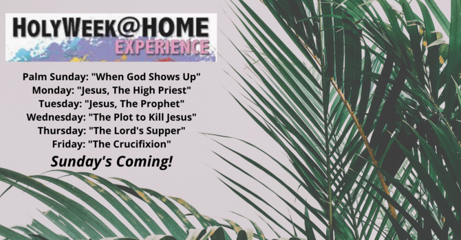 Holy Week @ Home image