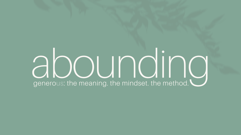 Abounding