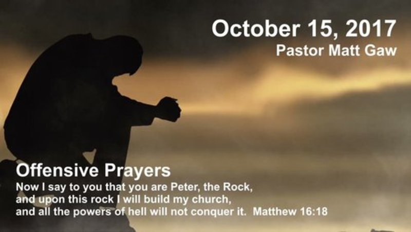 Offensive Prayers