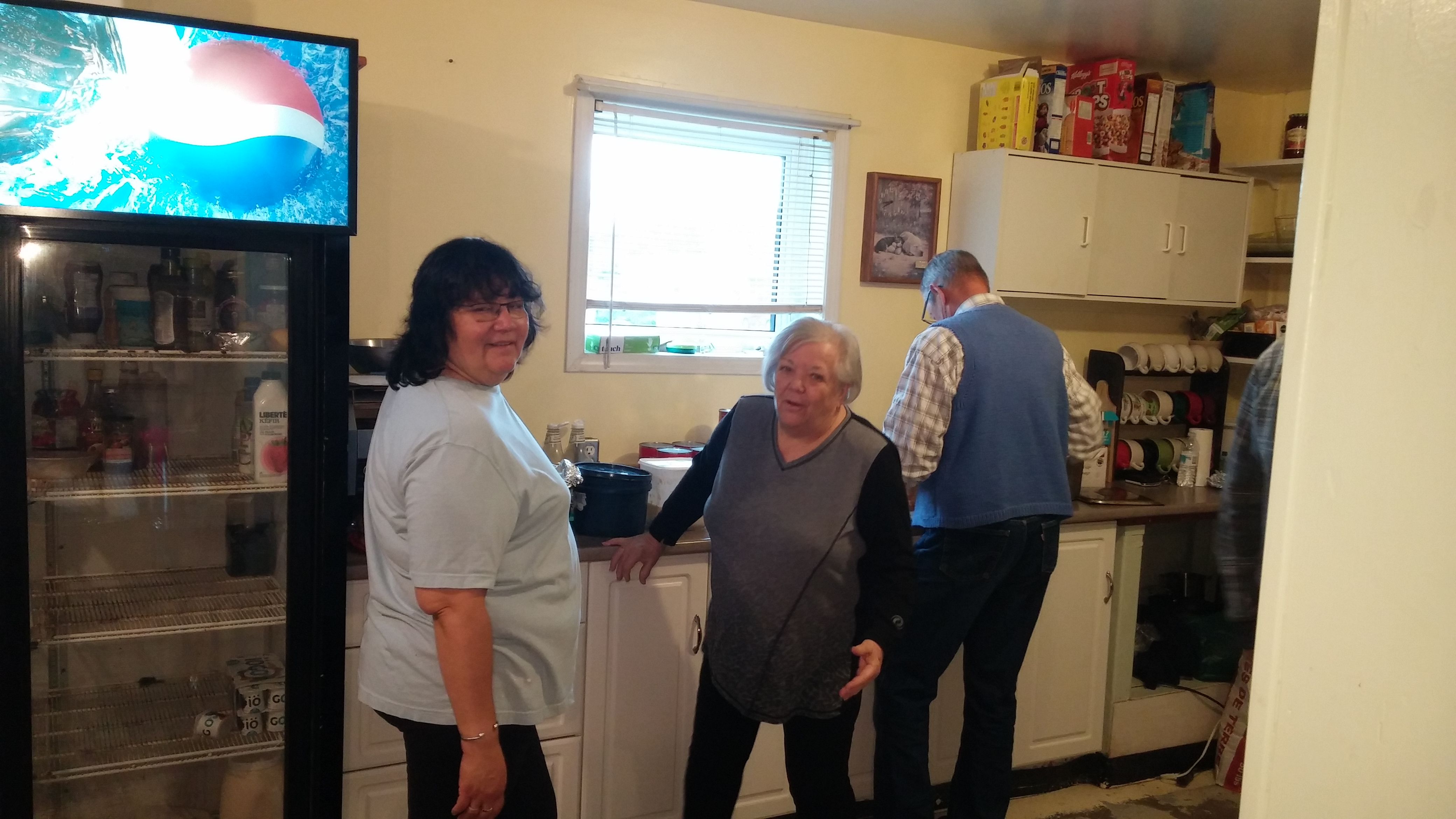 In the Kitchen with Chaplain Lorraine