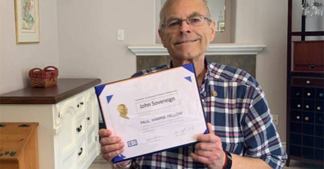 Article Pays Tribute to John Sovereign  image