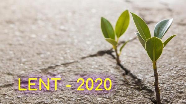 Season of Lent - 2020