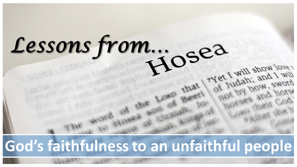 Lessons from Hosea