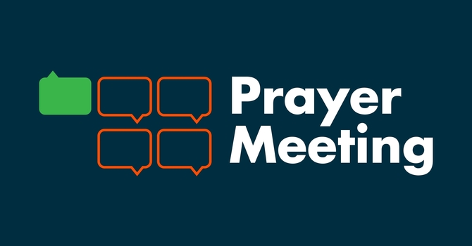 Join us for PRAYER! image