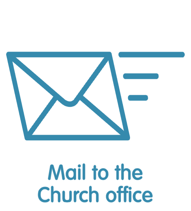 Mail to the Church Office