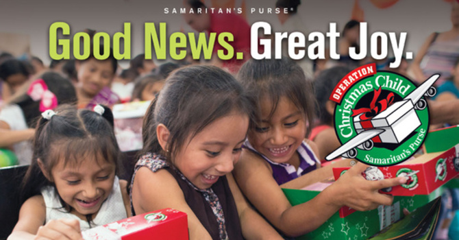 Operation Christmas Child 2018 image