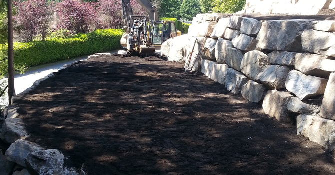 Rockridge, West Vancouver - Retaining Walls image