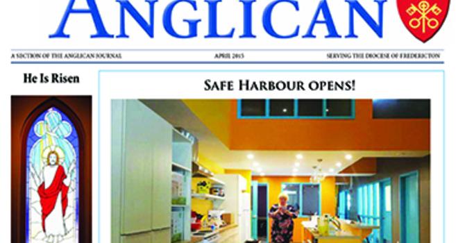 New Brunswick Anglican April 2015 image