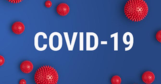 Message re: COVID-19 Virus image