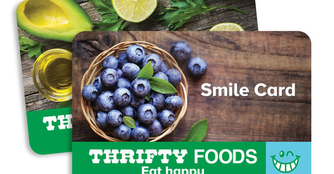 Thrifty Foods Smile Card Fundraising Program image