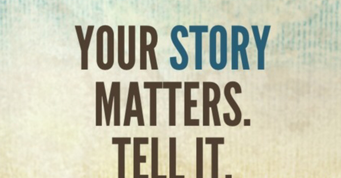 Share your Story! image