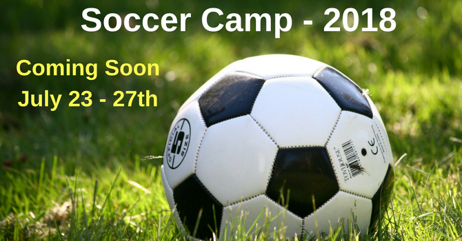 Soccer Camp 2018 image