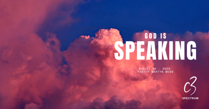 God is Speaking!