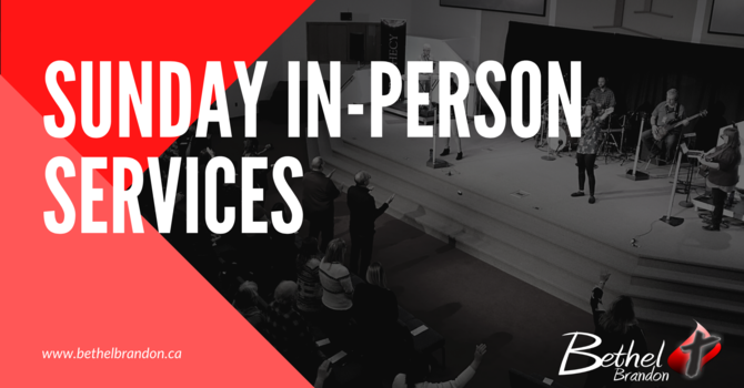 Sunday In-Person Services