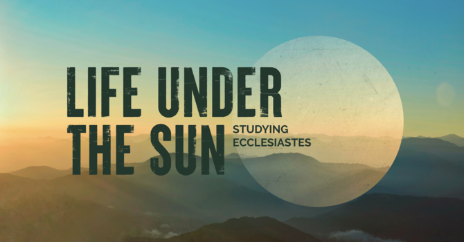 Life Under the Sun | Week 18