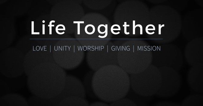 Life Together | Part 2: Unity