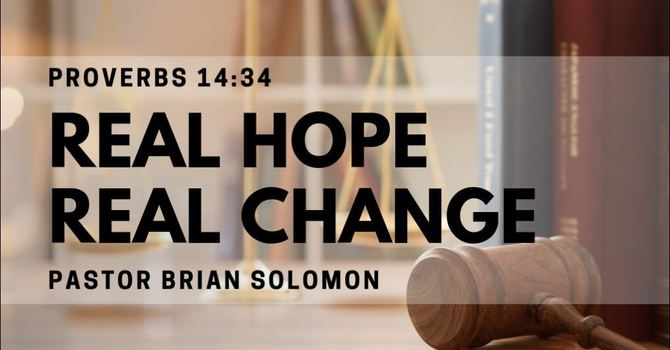 Real Hope, Real Change