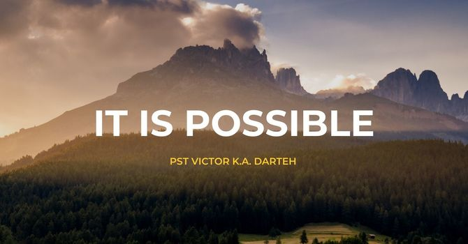 It Is Possible image