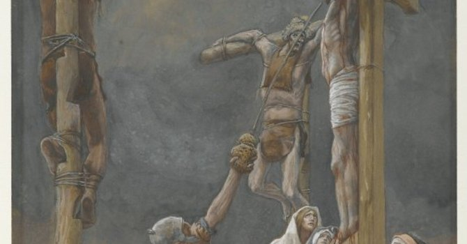 Art and Soul for Lent Day 45 - Good Friday - I Thirst