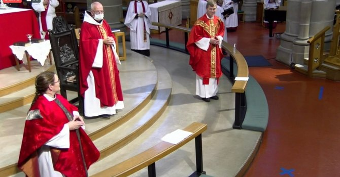 September 20, 2020 - Ordination Video only + Sermon text of Matt Humphrey & Gail Rodger to priesthood