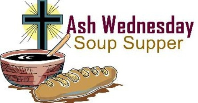 Ash Wednesday Soup Supper and Service