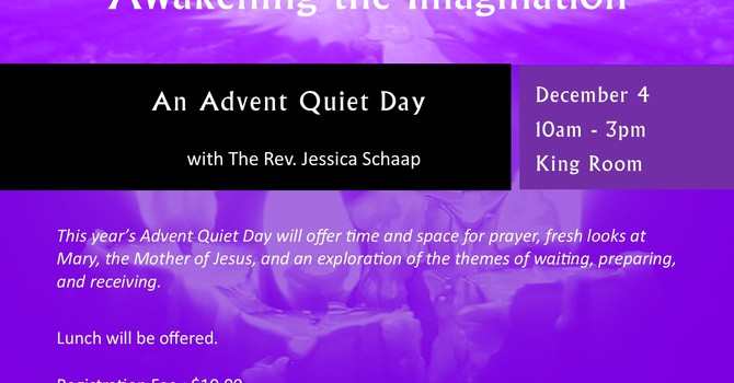 Awakening the Imagination: An Advent Quiet Day
