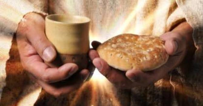 At-Home-Communion will be the 1st and 3rd Sundays of each month. image
